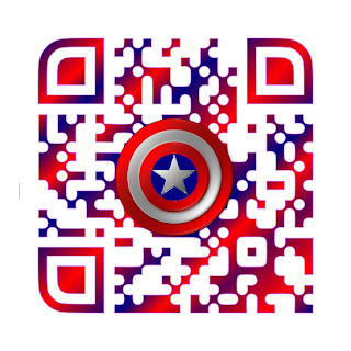 Captain America The Winter Soldier QR Code