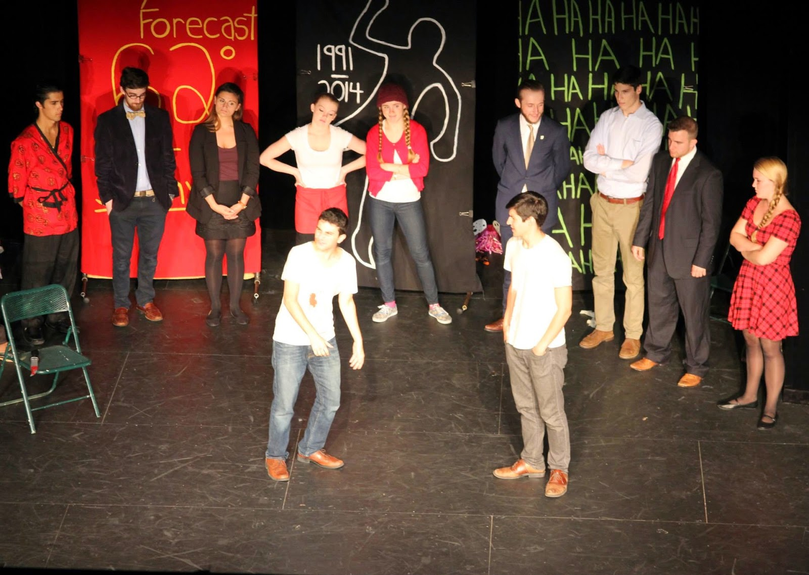 My Personal Hell By Jonathan O'neill At The Ny Int'l Fringe Festival,  August 2014