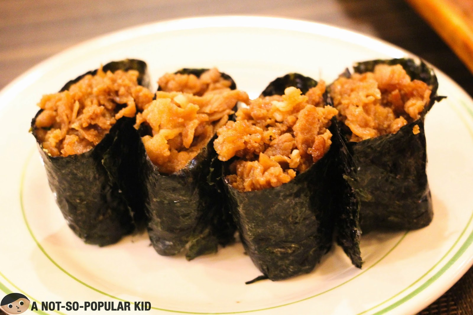 Bulgogi Sushi of Genji-M