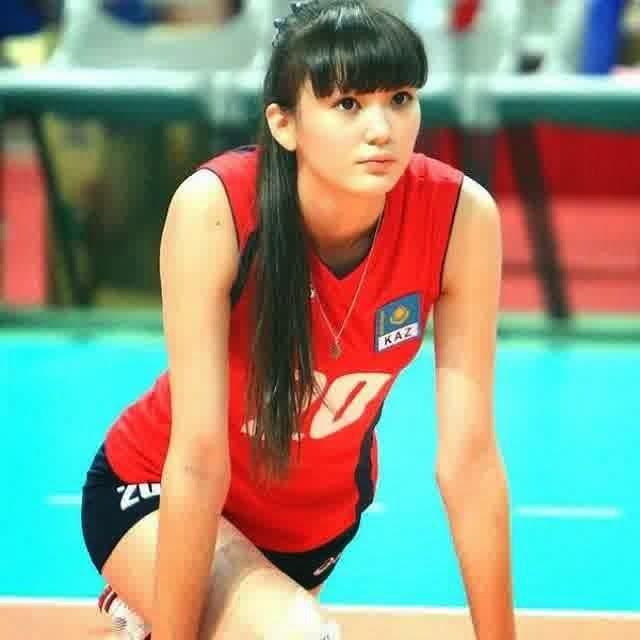 Sabina Altynbekova Atlet Voli Cantik