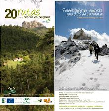 20 rutas senderistas en la Sierra de Segura