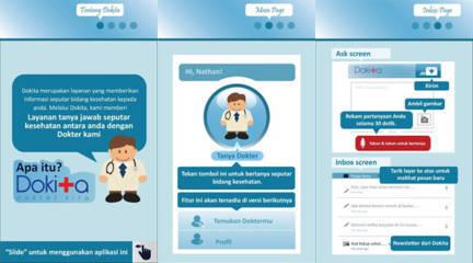 Dokita - Dokter kita via ponsel