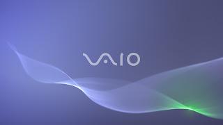 Blue VAIO Wallpaper 1440 x 900