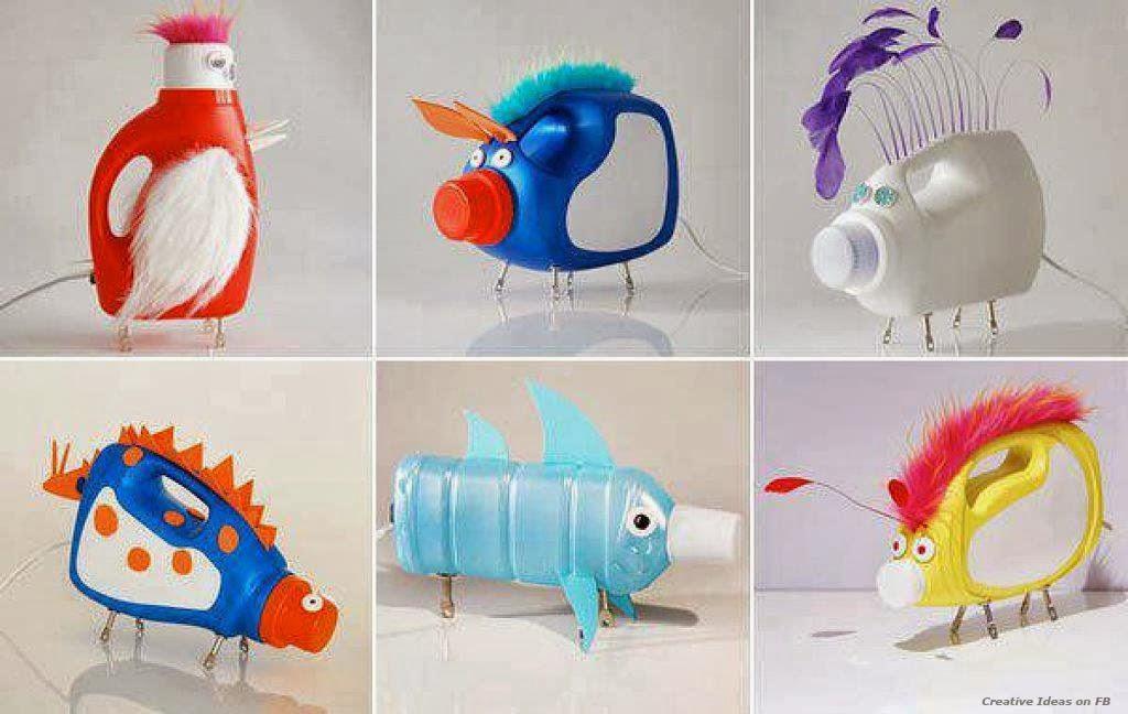 Opciones para reciclar botellas y plastico ideas para - Que se puede hacer con botellas de plastico ...