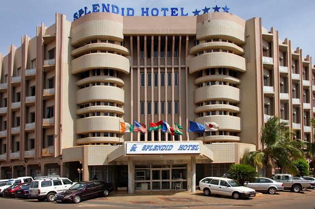 Homens armados invadem o Splendid Hotel em Burkina Faso