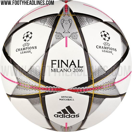 Conoce adidas final milano 2016 el bal n de la final de for Milano 2016