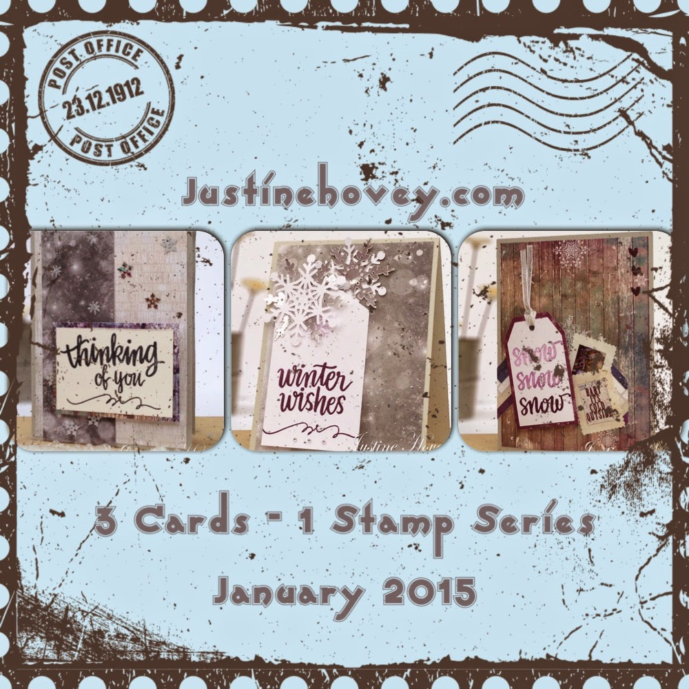 3 Cards, 1 Stamp Video Series!