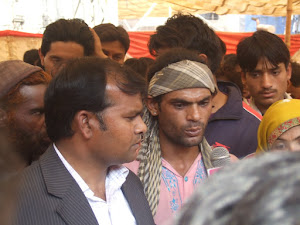 Saleem Masih brother of Sawan Masih(accused of  blasphemy) telling ,his brother is innocent.