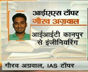 IAS Topper Gaurav Agrawal (AIR -1) Interview