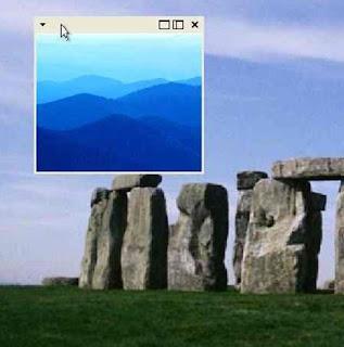Картинка в картинке в Windows XP