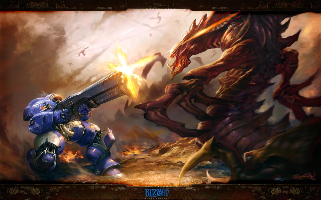 Starcraft HD & Widescreen Wallpaper 0.484642185356554