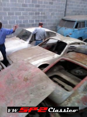 Coleção abandonada de Volkswagen SP2_24