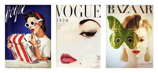 Beauty magazine covers
