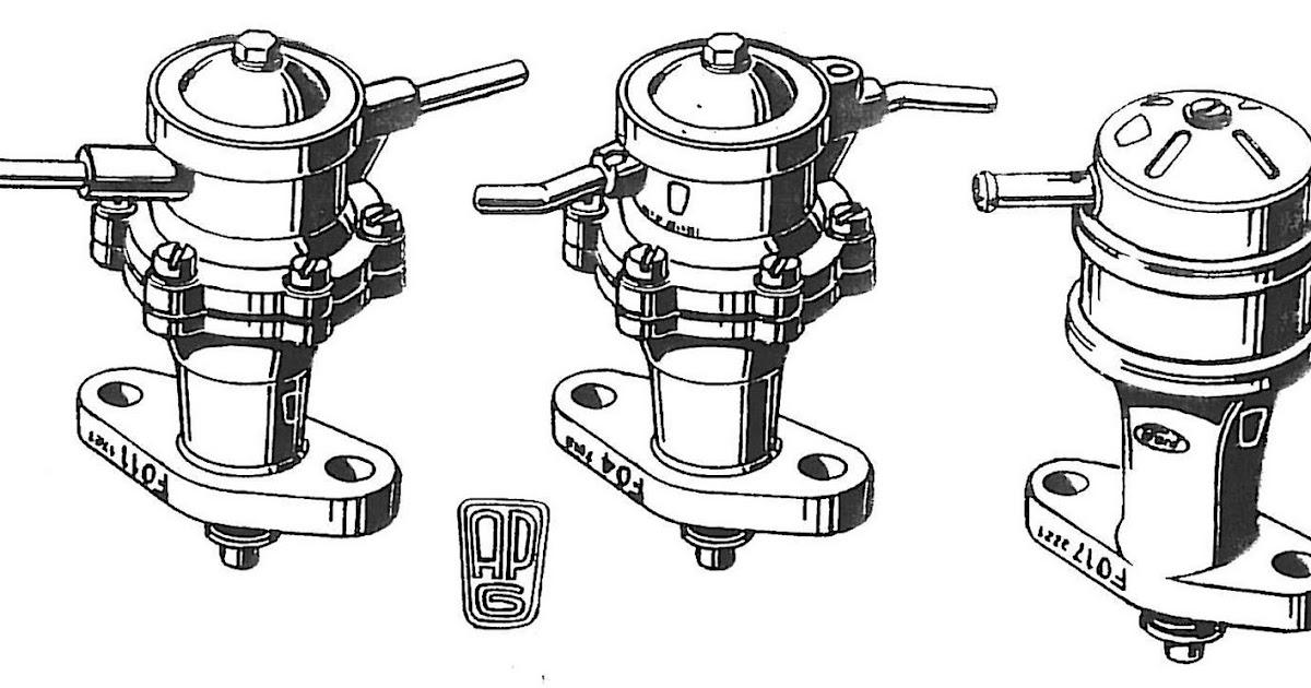 saab journal  vintage saab v4 fuel pumps