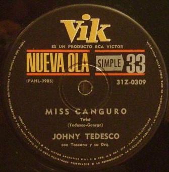 Johny Tedesco Miss Canguro