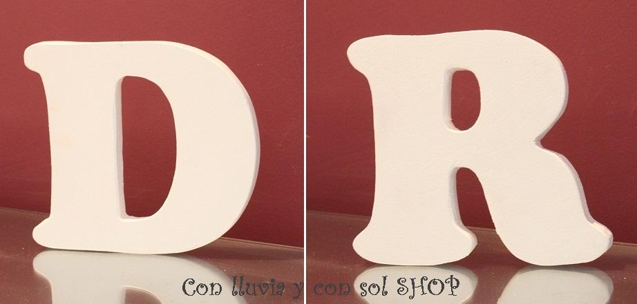 ms letras decorativas de madera - Letras Decorativas