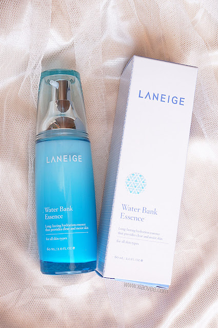 Laneige skin care review, Laneige Water Bank Review, Laneige Water Bank Essence Review