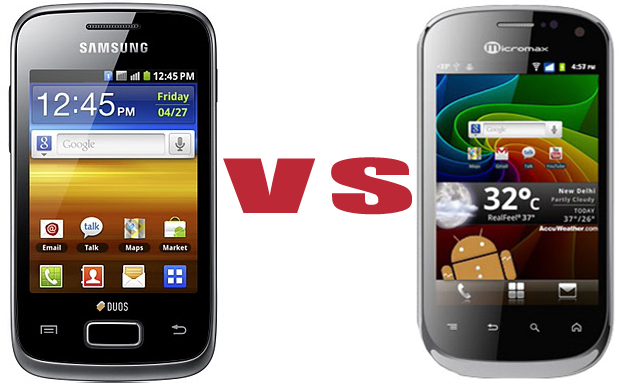 Samsung Galaxy Y Duos or  Micromax A75