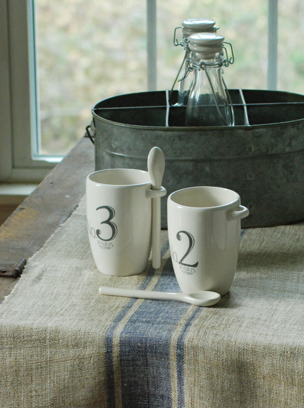 Our New Beyond Grain Sack Striped Table Runners Combines The Relaxed Look  Of Vintage Grain Sack Fabric Or Burlap With The Pure Elegance Of Silk. This  French ...