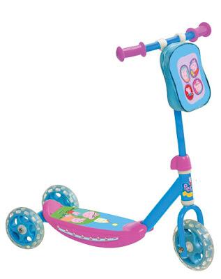 JUGUETES - PATINETES  Peppa Pig - Patinete Infantil | 3 Ruedas  Mondo Toys 28051 | Comprar en Amazon