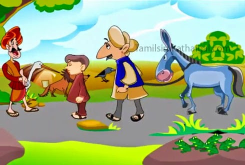 The Man, the Boy, and the Donkey 2 - Aesop Moral Story