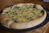 Wild Garlic Bread with Cheese