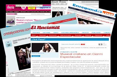 Gianni Espectacular presenta un musical en la Semana Santa