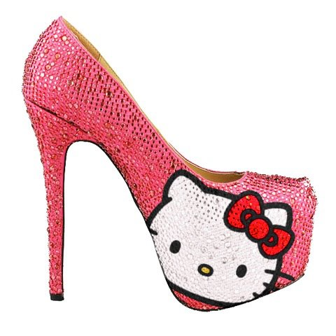 ZAPATOS HELLO KITTY - TACONES HELLO KITTY - HELLO KITTY SHOES