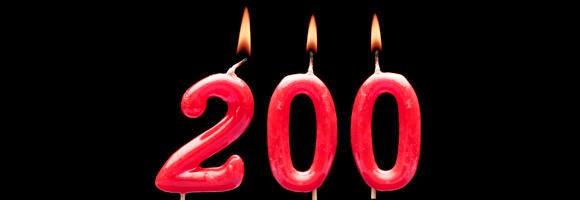 200 objav pri Oldpunci