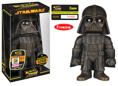 "San Diego Comic-Con 2015 Exclusive Star Wars ""Matte Black"" Darth Vader Hikari Sofubi Vinyl Figure by Funko"