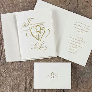 Heart Wedding Invitations Heart Wedding Invitations