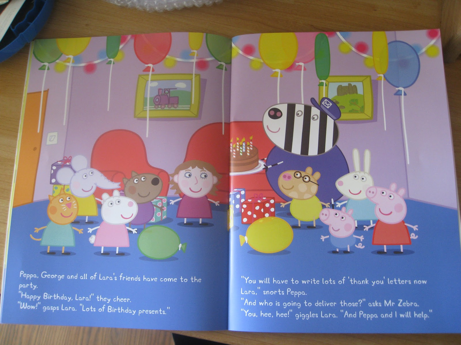 Review Personalised Peppa Pig Book