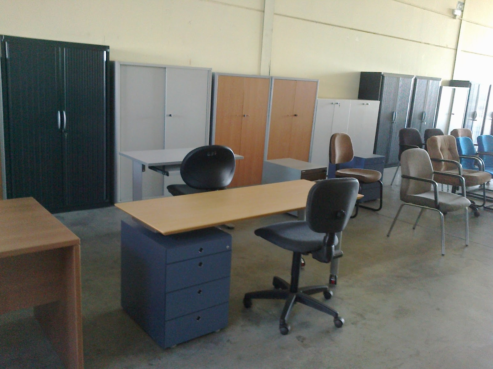 estanter as met licas y muebles de oficina mobiliario de On mobiliario oficina ocasion