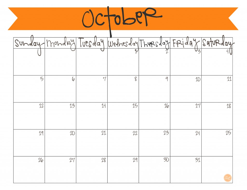 printable free calendar templates
