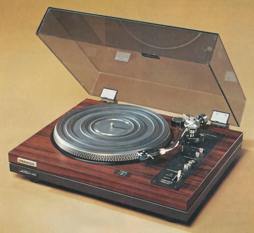 Golden age of audio pioneer pl 1200 h direct drive turntable for Direct drive turntable motor