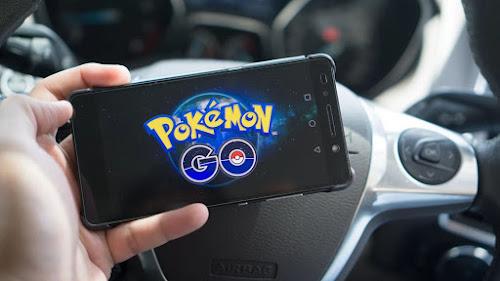 Pokémon GO elimina a aparição de criaturas enquanto estiver no carro.