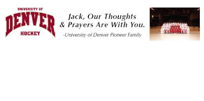 WCHA: DU Fans To Sign Banner For Jabby At Magness Saturday Night