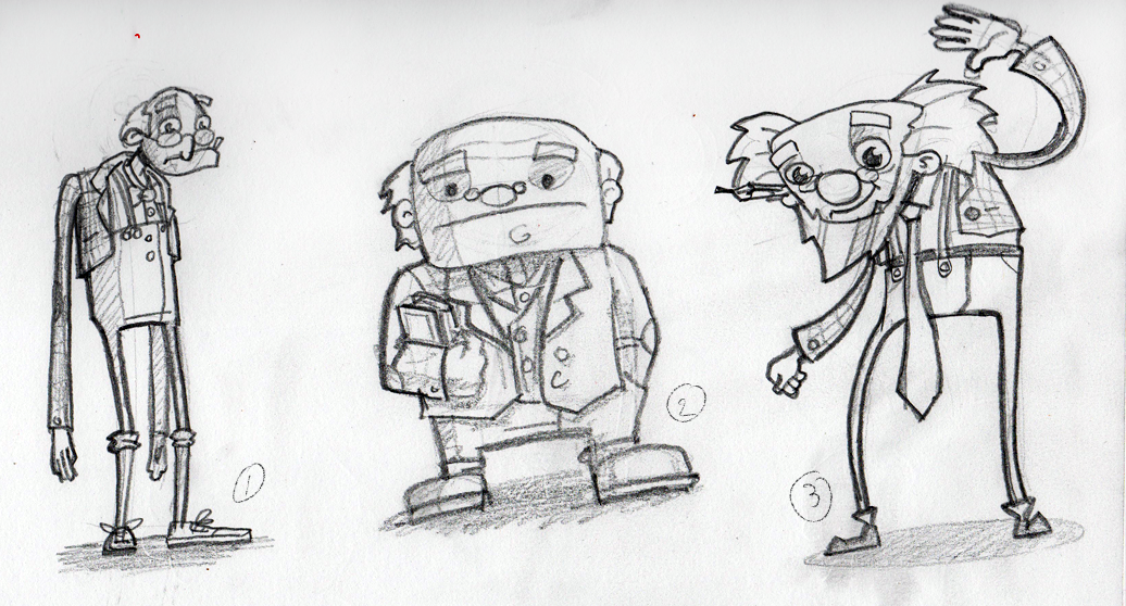 Character Design Old Man : Als honours project more character designs