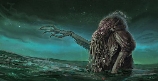 'Cthulhu Senior' by Steve Somers
