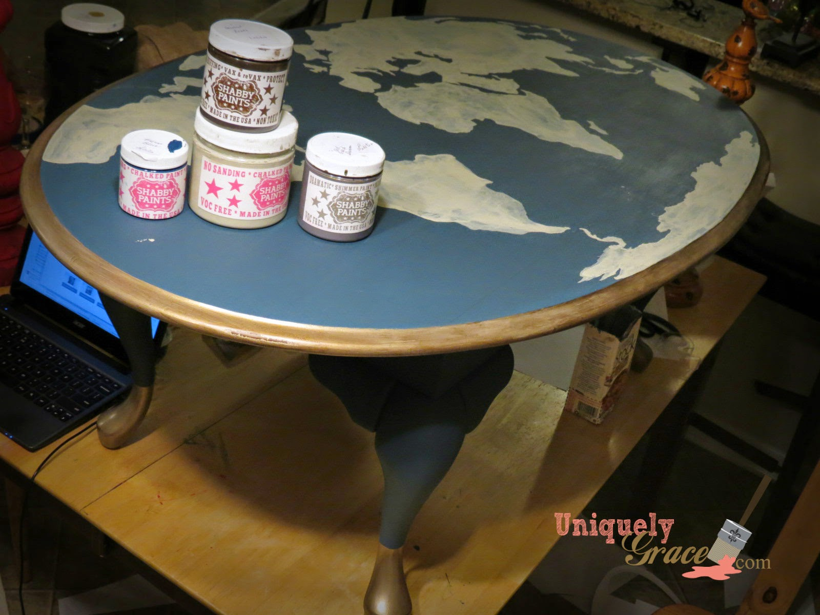EDIT/UPDATE: This Project Won A Prize From Shabby Paints As A Monthly  Favorite Project. Thank You Shabby Paints!!!! I Could Not Have Created This  Without ...