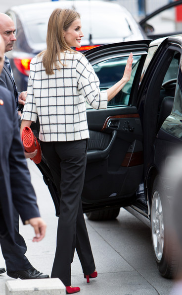 Spanish Royals Attend Red Cross Fundraising Day (Queen Letizia of Spain)