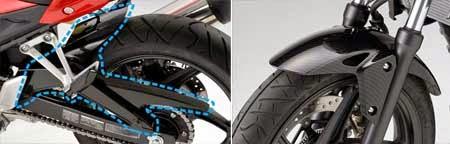 Bodyparts Honda CB250F