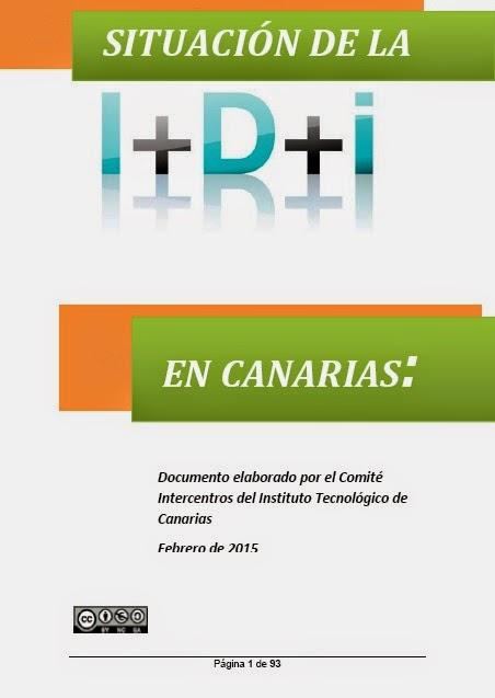 EVALUACIÓN DE PROGRAMAS Y SITUACIÓN DE LA I+D EN CANARIAS 2015