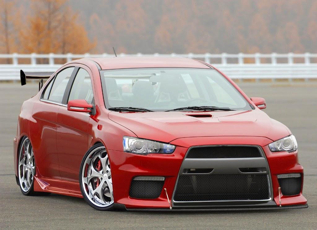 Modifikasi Mitsubishi Lancer Evolution X
