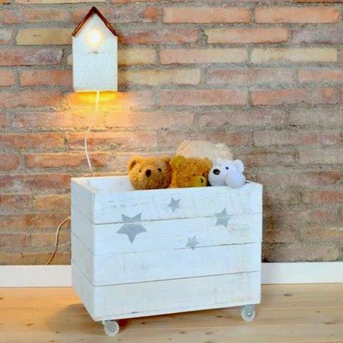 Mam s creativas diy cajas de frutas - Cajas para guardar juguetes ...