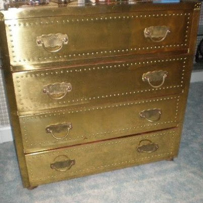 made in spain brass dresser