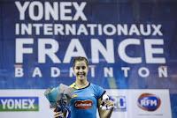 BÁDMINTON - Carolina Marín consolida su nº 1 ganando en París