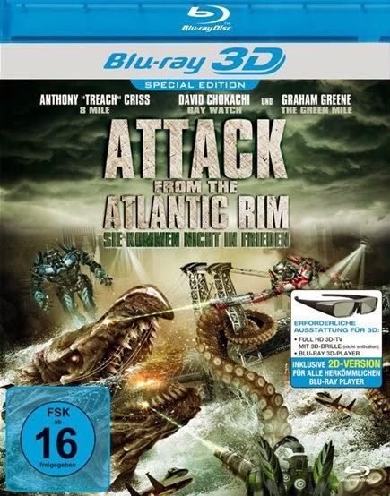 Atlantik Savaşı filmin 3d afisi