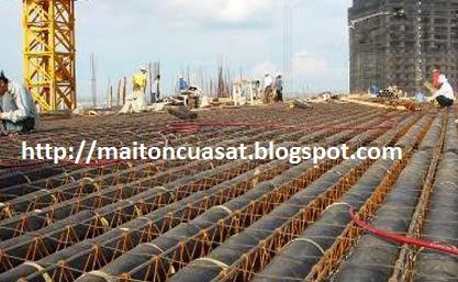 Đổ sàn nhanh tróng trong xây dựng dân dụng