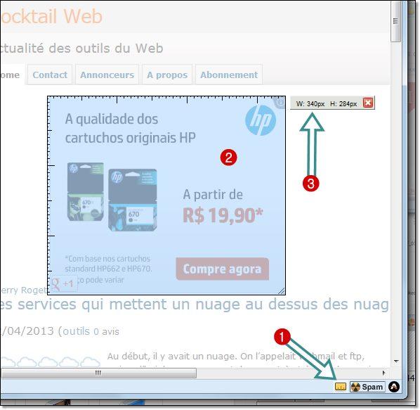 Comment mesurer en pixel un objet sur page web ou sur cran for Photo ecran logiciel